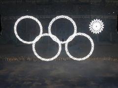 视频-索契冬奥开幕式惊现雷人故障 奥运五环变四环