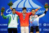 男子举重85公斤级陆永夺冠