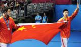 乒乓球男单马龙压王皓夺金