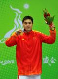 拳击男子+91KG级张志磊金牌