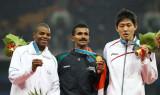 男子400米栏印度选手夺冠