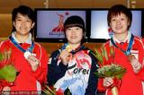 保龄球女子韩国选手夺金