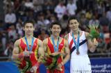 体操男子鞍马滕海滨金牌