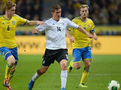 视频集锦-272破门许尔勒戴帽 德国5比3逆转瑞典