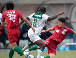 巴力远射谢志宇头槌建功杭州2比0胜河南亚冠在望