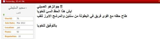 卡塔尔球迷
