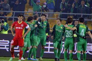 中超-巴塔拉首秀进制胜球格隆伤退国安1-0亚泰