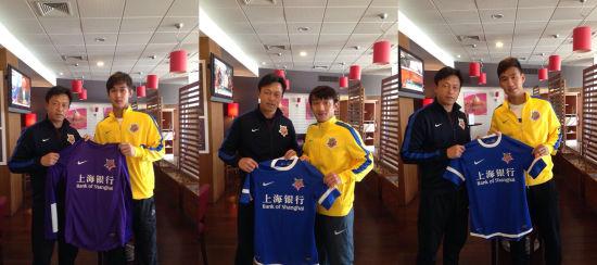 申鑫签下张一诺(左)、崔仁(中)和陈灏(右)