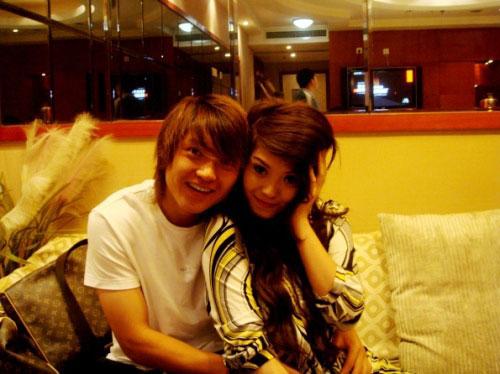 图文-汪嵩和他的环球小姐女友郎才女貌天作之合