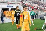 图文-[中超]天津vs青岛昔日追风少年已成青岛领袖