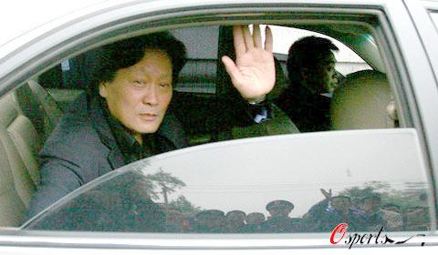 图文-武汉光谷0-1北京国安朱广沪暂别江城球迷
