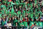 图文-激情球迷助阵京杭焦点大战 国安球迷声势浩大