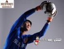 图文-亚泰主力球员写真 昔日国门手臂超级长