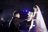 婚礼中浪漫时刻