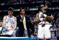 NBA老照片-1993年全明星赛回眸爵士双星获MVP