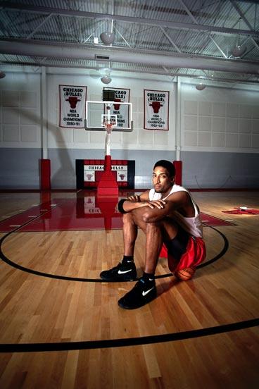 NBA老照片-光影里不会消失的身影公牛永远的33号