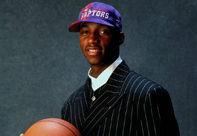 NBA老照片-猛龙选中天才高中生麦蒂就此踏入联盟
