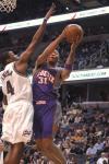 图文-[NBA]太阳122-107奇才马里昂上篮势不可挡