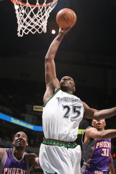 图文-[NBA]太阳93-100森林狼杰弗森快攻上篮