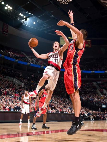 图文-[NBA]勇士95-105开拓者罗德里格斯似投似传