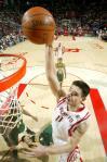 图文-[NBA]超音速89-96火箭姚明暴扣易如反掌