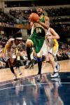 图文-[NBA常规赛]超音速VS步行者威尔考克斯勇猛上篮