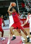 图文-[女篮热身赛]中国VS古巴古巴队员敢拼敢打