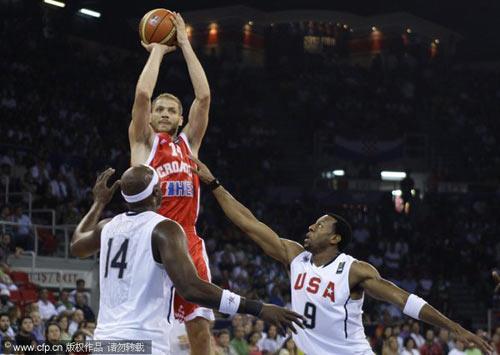 图文-[世锦赛]美国106-78克罗地亚克队球员跳投
