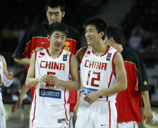图文-[世锦赛]中国83-73科特迪瓦两员小将出马
