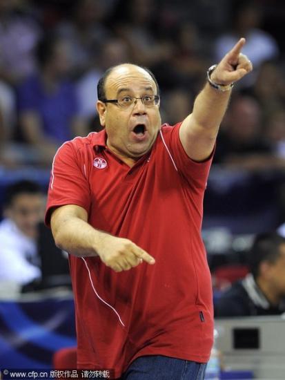 图文-[世锦赛]巴西VS突尼斯上下开攻一起冲