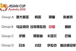 亚洲杯赛程:国足1月10日16时首战沙特