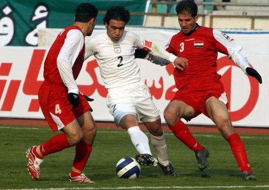 图文-[世预赛]伊朗0-0叙利亚马达维基亚遭对手关门
