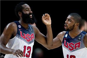 欧文三分6中6贡献26分美国男篮夺冠轻取塞尔维亚