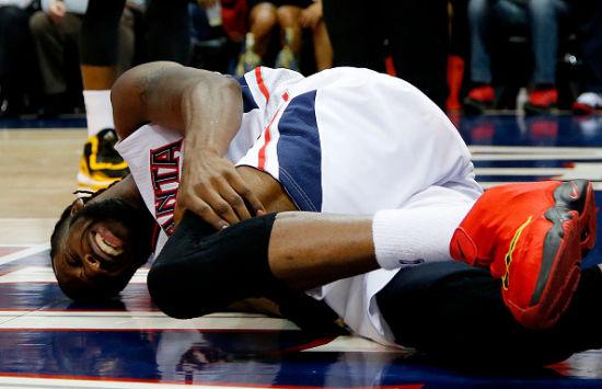 卡罗尔的膝伤并没有大碍