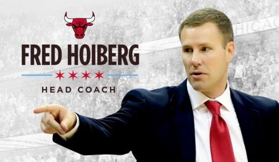 霍伊博格正式成为公牛新任主帅
