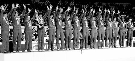 1985年女排世界杯再夺魁