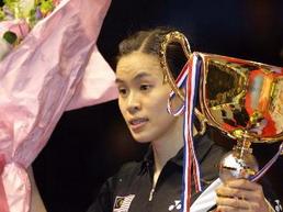 中羽赛谢杏芳决赛失手黄妙珠连胜中国五女将夺冠