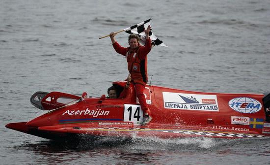 F1摩托艇俄罗斯站约纳斯夺冠中国天荣队再积16分