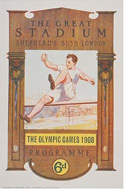 夏奥会回顾之1908年伦敦:五大洲选手的首次聚会