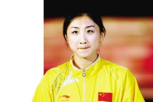 何雯娜不想演小龙女 自认为体育明星比较伟大(图)