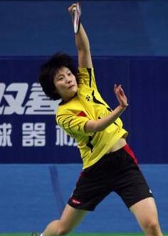 中国羽球赛朱晶晶蒋燕皎赢金花内战会师女单决赛