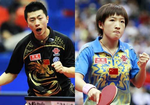 外电:马龙刘诗雯终结欧洲选手世乒赛只属于亚洲