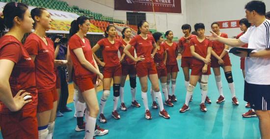 09世界女排大奖赛赛程确定中国女排首站碰俄罗斯