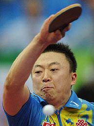 世乒赛王皓3-2险胜马琳横扫中国4连胜提前进八强