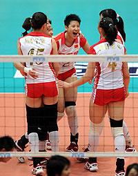 大奖赛-中国女排3-0横扫泰国一雪亚锦赛丢冠之耻