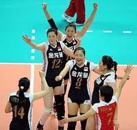 大奖赛-王一梅24分中国女排3-1日本赢总决赛首胜