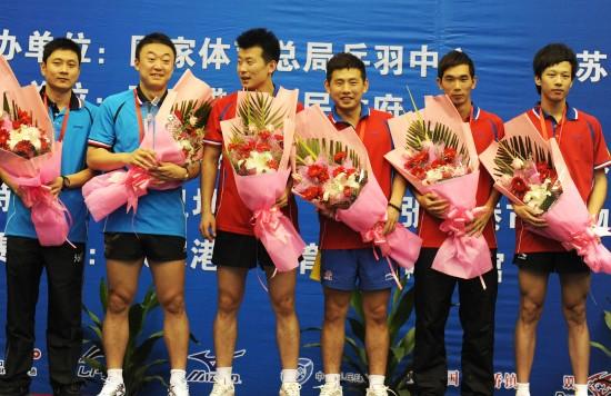 全锦赛马琳独得2分力克王皓广东男队胜八一夺冠