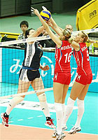 世锦赛-中国女排0-3俄罗斯小组赛2胜3负第4收官