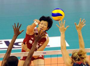 大奖赛中国女排0-3输美国漯河站1胜2负季军收官