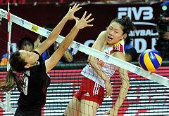 大奖赛总决赛中国女排1-3泰国遭两连败小组垫底